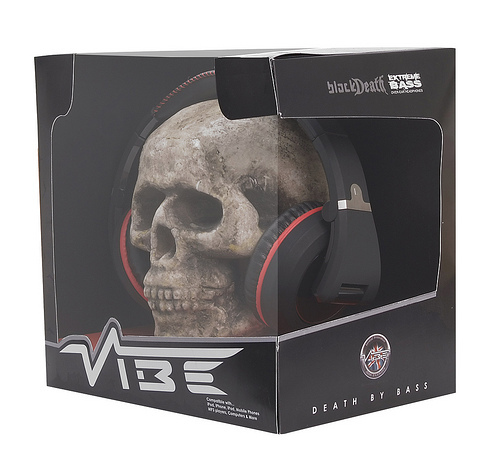 Наушники Vibe BLACK DEATH OVER-EAR V1